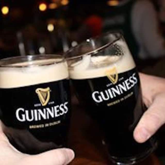 Toast St. Patrick's Day with a pint of Guinness at O'Brien's in Danbury.