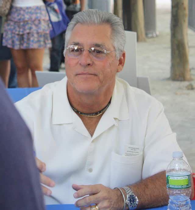 Bucky Dent at a 2010 Yankees Fanfest. The former shortstop is to be the celebrity guest at Sterling House Community Center's 14th annual Celebrity Breakfast.