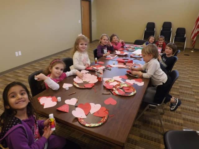 Emerson Library will host a Valentine's Day craft event on Thursday.