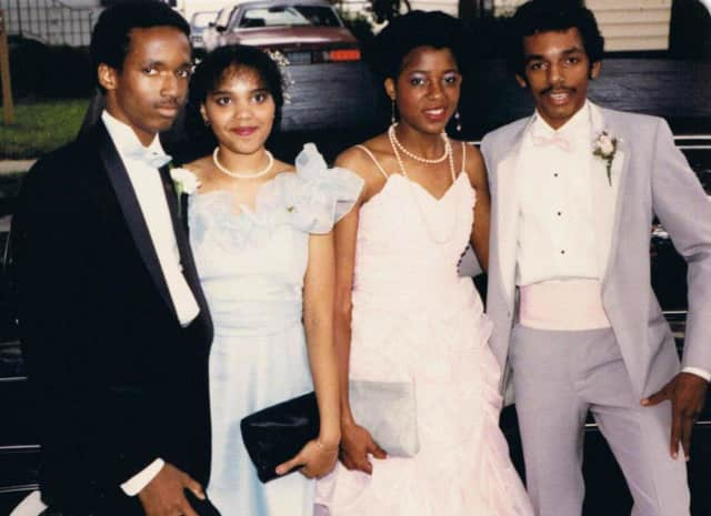 1985 Teaneck High School prom