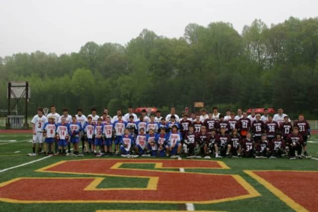 Participants from previous Stratford Sterling Youth Lacrosse programs.