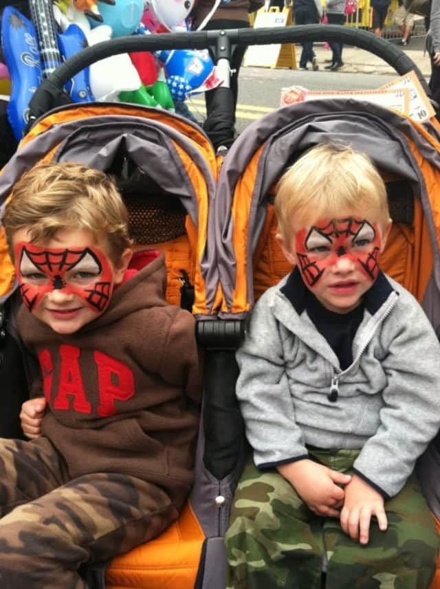 Face painting is some of the fun for kids at the West End Festival.