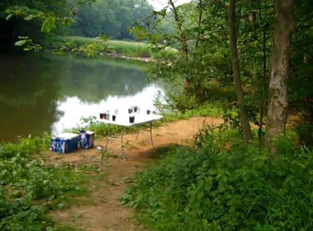 Drinking, swimming and other illegal activity at a Somerset County park has been going on for years, according to photos on social media.