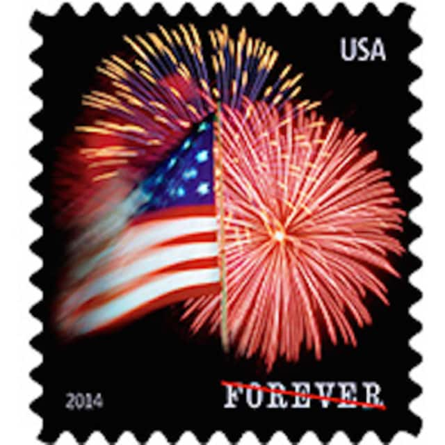 The price of a Forever stamp has dropped from 49 cents to 47 cents.