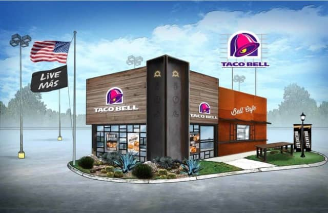Taco Bell is coming to the Target parking lot in Hackensack.