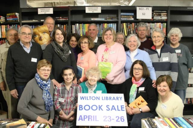 Wilton Library's Annual Gigantic Book Sale ends Tuesday.