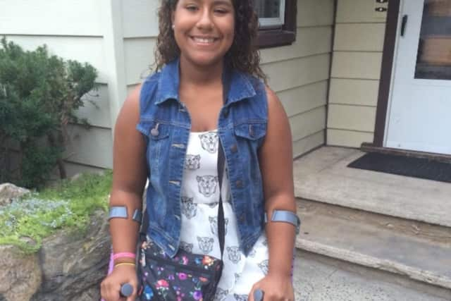 The community is donating to a fundraiser for Tuckahoe Middle School student Jenna Velez.
