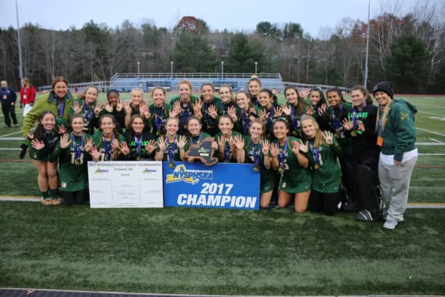 The Lakeland Field Hockey team won its 9th straight title.