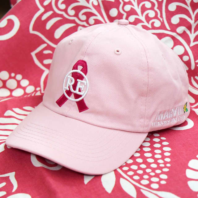 Ring's End will donate proceeds from hat sales to breast cancer research.