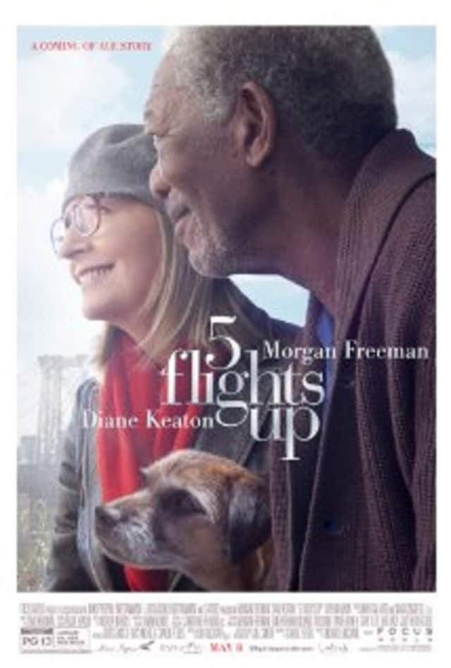 """The Mahwah Public Library will show """"5 Flights Up"""" Oct. 29."""