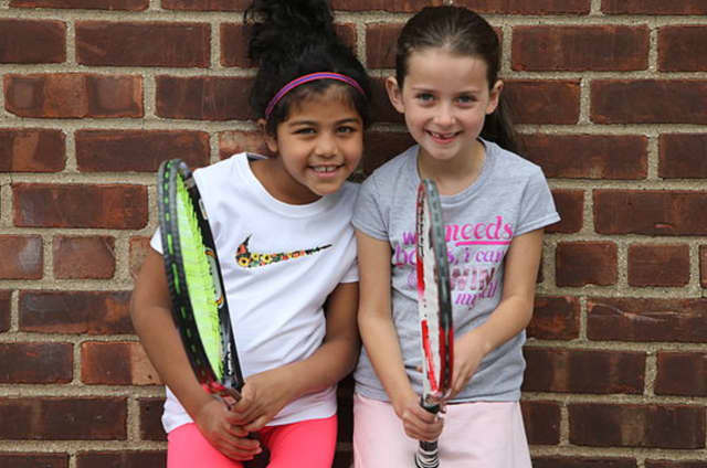 Kids can play tennis for free in Mount Vernon.