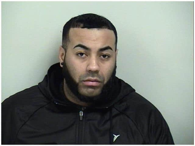 Jose Correa, of Fairfield, faces second-degree criminal mischief charges after jumping on a car and breaking its windshield in Westport on Friday night.
