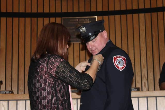 John Tuohy of Saddle Brook was promoted to lieutenant in the Passaic Fire Department.