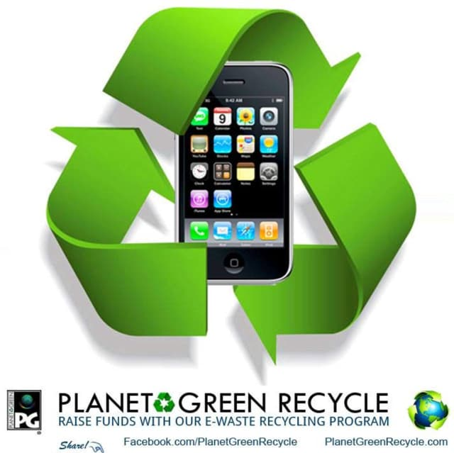 Planet Green Recycle donates to Habitat for Humanity Bergen County for every small electronics item or accessory collected for recycling.