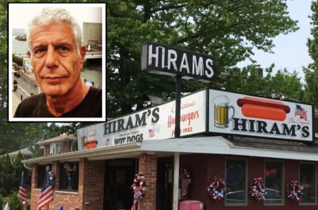Hiram's Roadstand is the first stop in the Anthony Bourdain Food Trail.