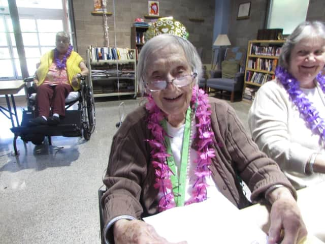 Happy 103rd birthday to Rockleigh's Freda Riecken!