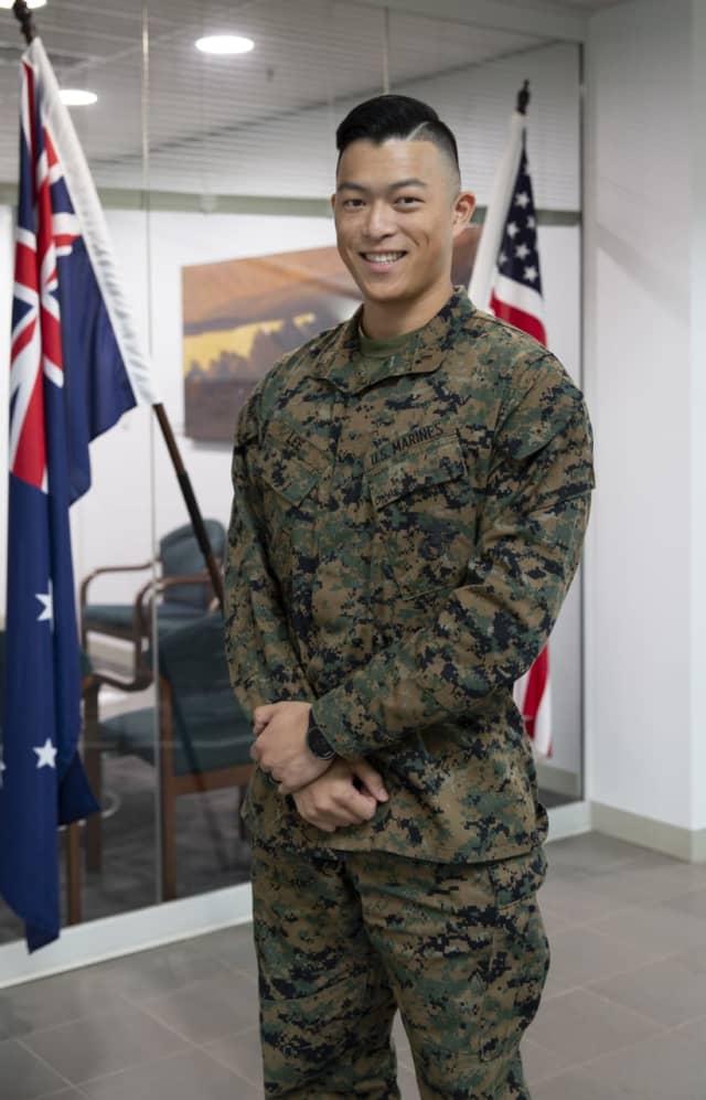 U.S. Marine Corps 1st Lt. James Lee