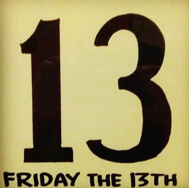 Friday the 13th will occur twice in 2017.