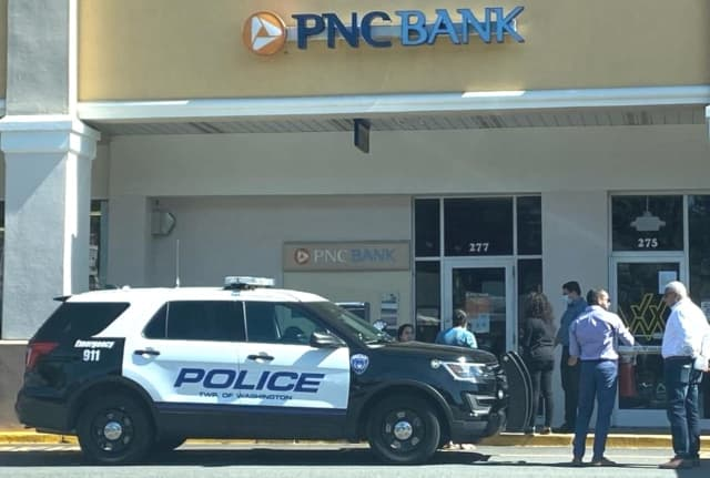 The boy, 13, said he was grabbed near the PNC Bank at the Pascack Road shopping center in Washington Township.