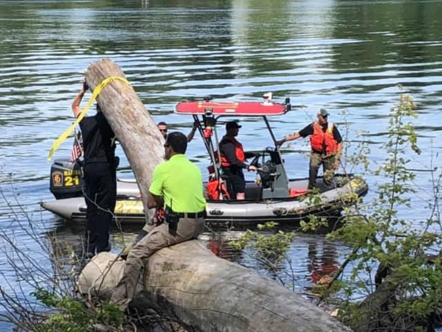 A mannequin was pulled from the Connecticut River where a fisherman reported seeing a submerged body.