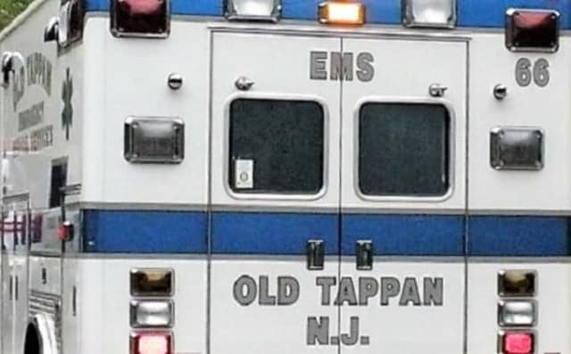 The Old Tappan toddler was in stable condition at Hackensack University Medical Center and may require surgery,