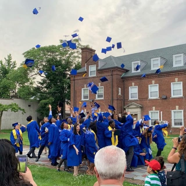 The Class of 2019 at St. Mary of the Assumption in Elizabeth