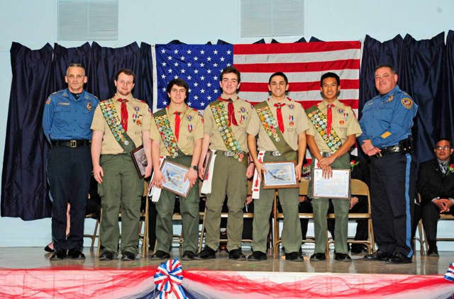 Wanaque welcomed new Eagle Scouts.