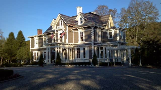 An 18th century mansion is the centerpiece at Torne Valley Vineyards in Hillburn.