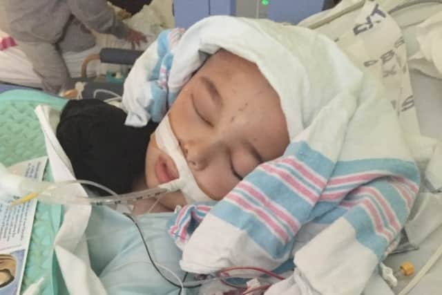 A GoFundMe page has been launched for a Bethel boy hospitalized with a rare condition.