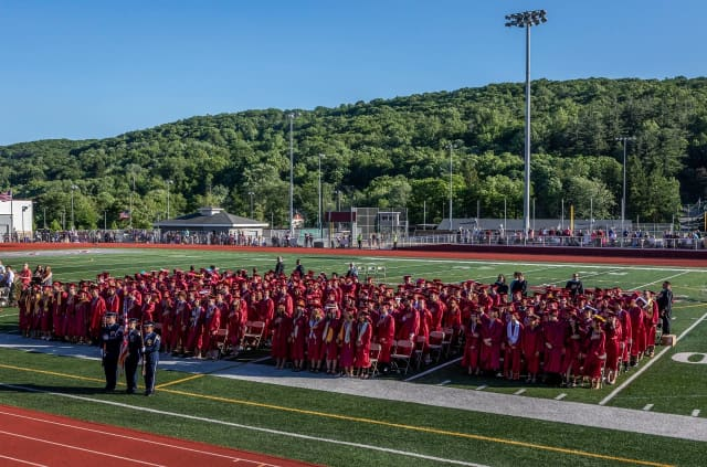 Police are investigating a fight that broke out after the Naugatuck High School graduation.