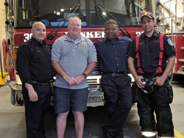 Crews from the Yonkers Fire Department helped a father deliver a baby on Father's Day.