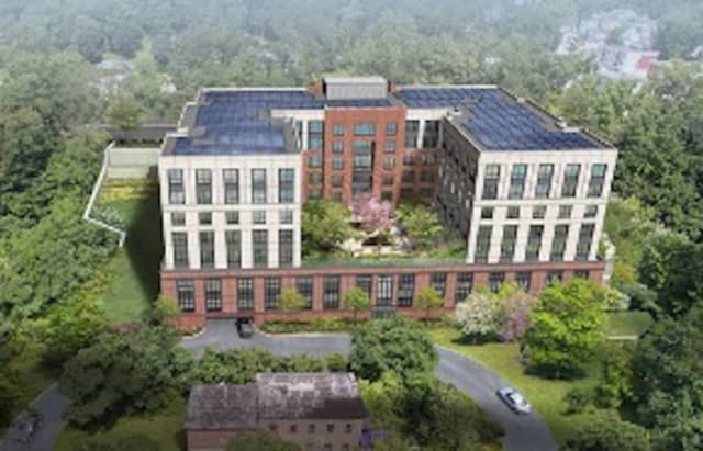 Consutrction on the $50.8 million affordable housing development at 645 Main Street in downtown Peekskill began on Wednesday, Sept. 9