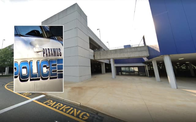 The troubled Hackensack man was taken to nearby New Bridge Medical Center after Paramus police rescued him.