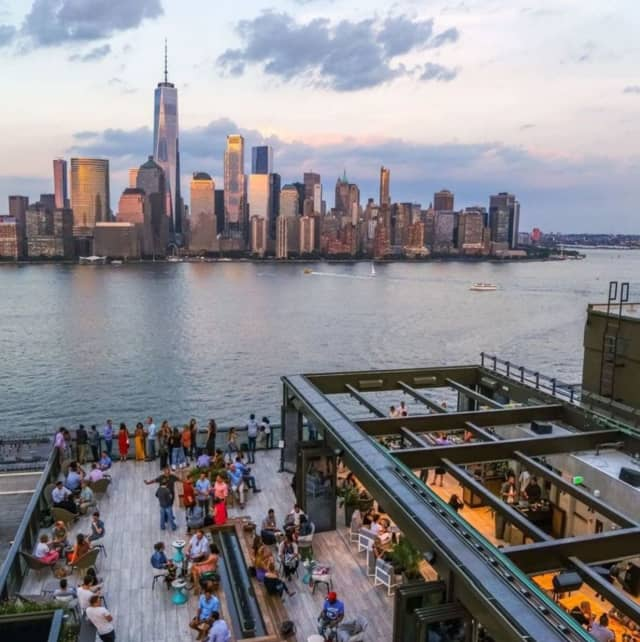 Rooftop at Exchange Place in Jersey City