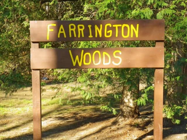 A missing mountain biker was found dead in Farrington Woods in Danbury.