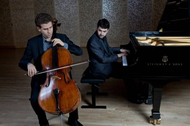 The Canellakis-Brown Due will perform at the Pequot Library in a free Music for Youth concert.