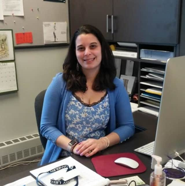 Katie Ventura is the new director of the Danbury Public Library.