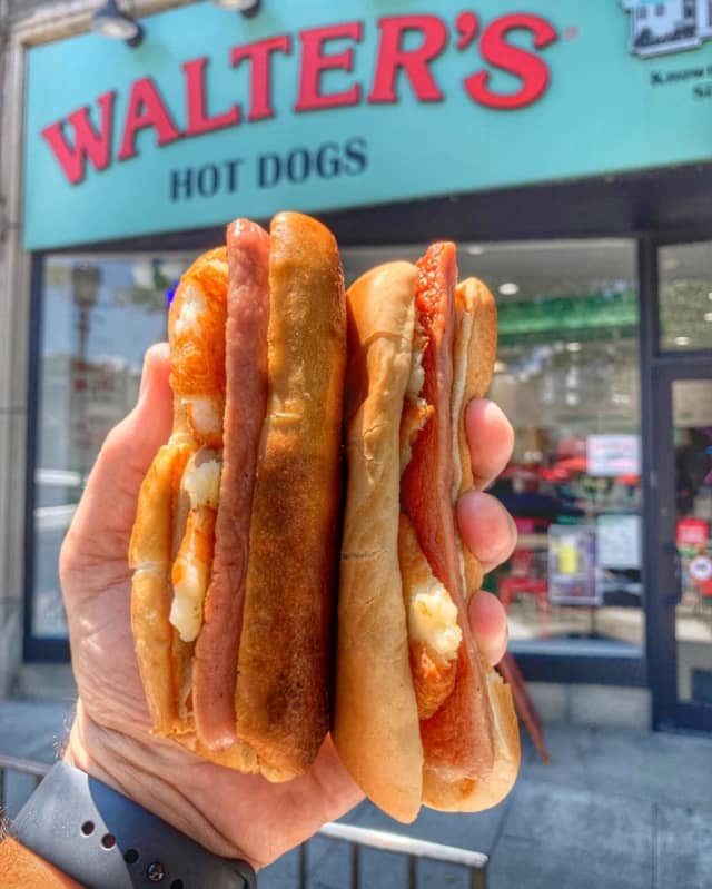 Walter's Hot Dogs in Mamaroneck is celebrating its 100th anniversary with a hot dog eating contest.