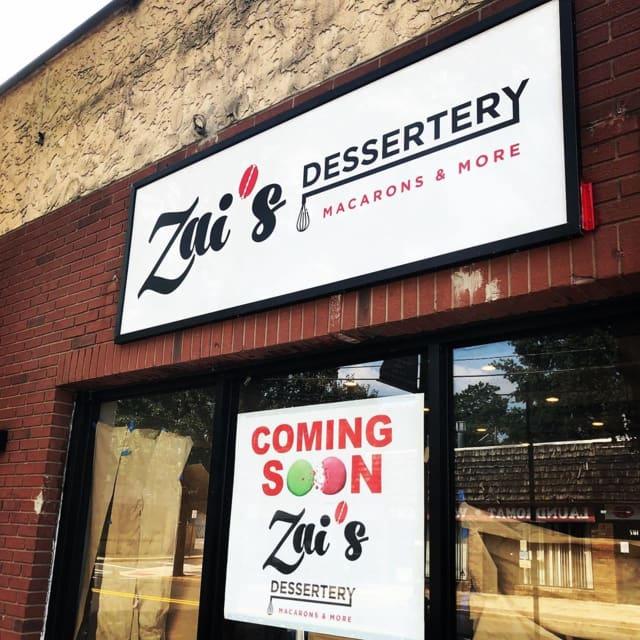 Zai's Dessertery is now open in Bergenfield.