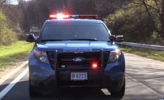 Westchester County Police chased a man in a possibly stolen vehicle.