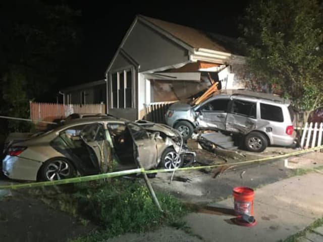 A driver crashed into a Connecticut home.