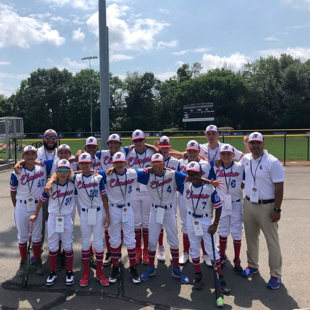 The Elmora Youth Little League team won its first game of the Little League World Series Friday night and squares off against Hawaii Sunday.