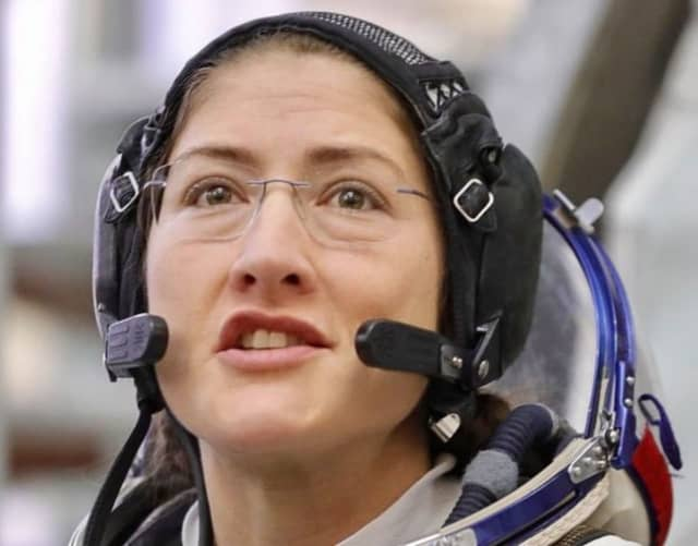 Astronaut Christina Koch will speak live from the International Space Station with students at the Town of Ramapo Challenger Center.