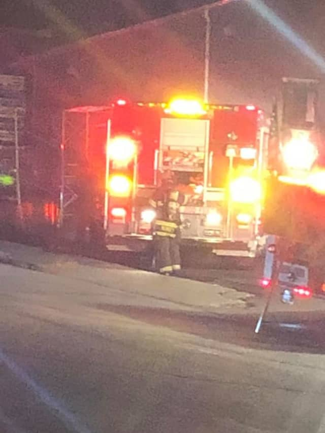 Dozens of fire departments responded to a fire at a Spring Valley shopping center.