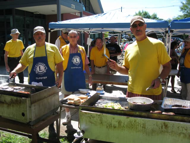 The Closter Lions Club will have lunch ready on the grill.