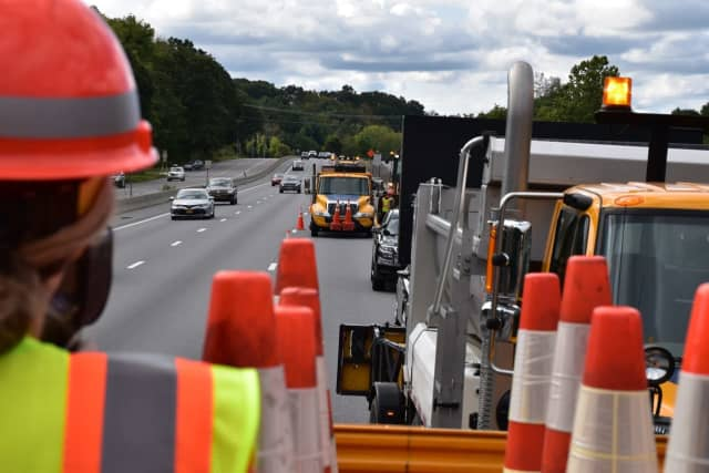 New York State Police troopers went undercover as construction workers to catch motorists in highway work zones.