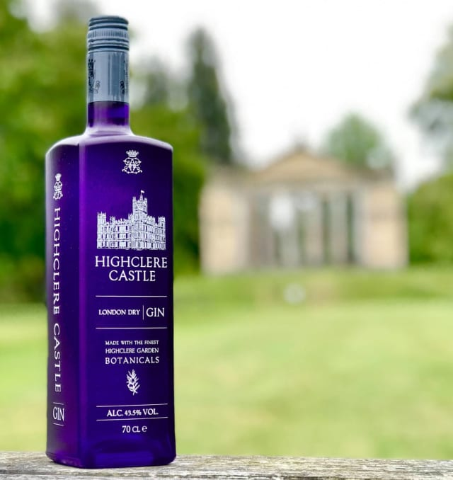 "Highclere Castle Gin promises a ""long, pillowy, soft velvety finish"" according to CEO Adam von Gootkin."