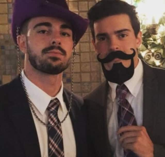 Brothers Michael Anthony Mancini, left, and Jake Mancini, in a recent photo.