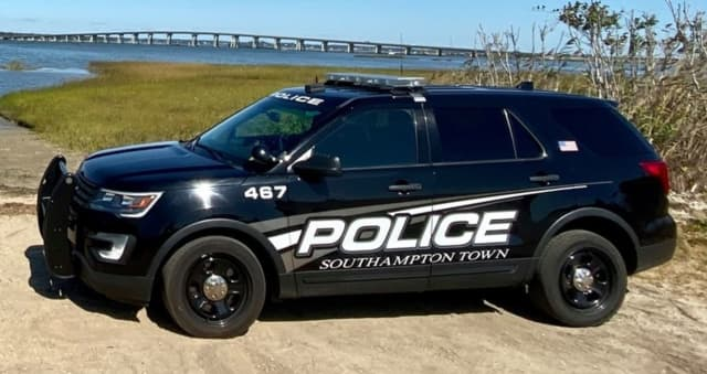 Southampton Police arrested a man who allegedly attacked another with a stick.