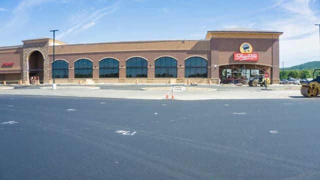 ShopRite going up in Sparta.